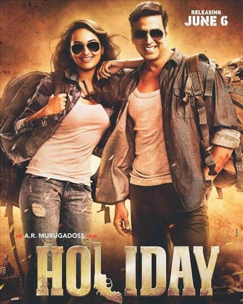 Bollywood Movie HOLIDAY, starring Akshay Kumar and Sonakshi Sinha