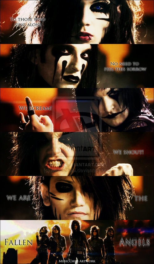 Andy, CC, Jinxx, Jake, and Ashley. Some of the greatest men to ever live.