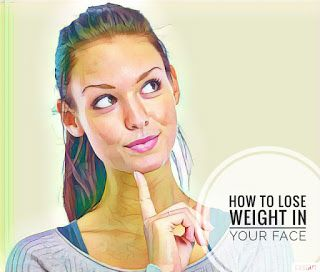 face lose weight first