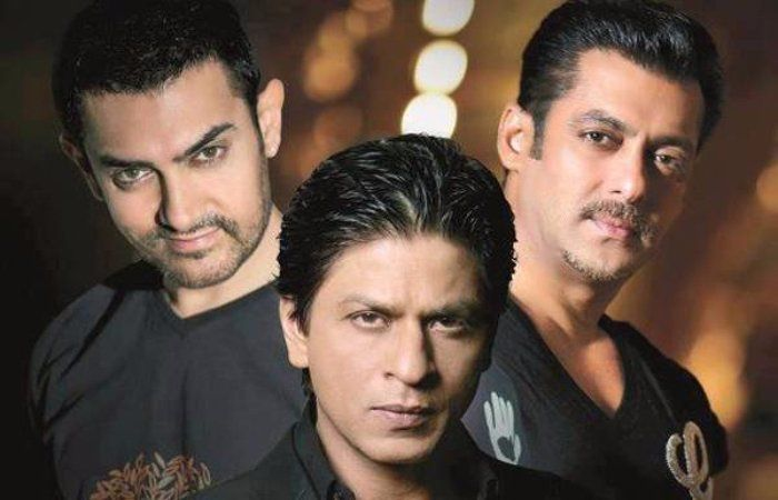 #Salman-Amir-SRK Trio Appeared Together In A Music Video
