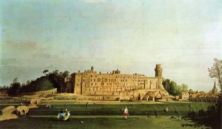 Canaletto - Château de Warwick, 1751.
