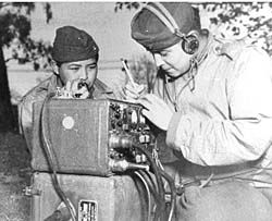 Navajo Code Talkers in WWII - Girls in White Dresses -- a history lesson about a Navajo Code used in WWII to bring the US victory over Japan.
