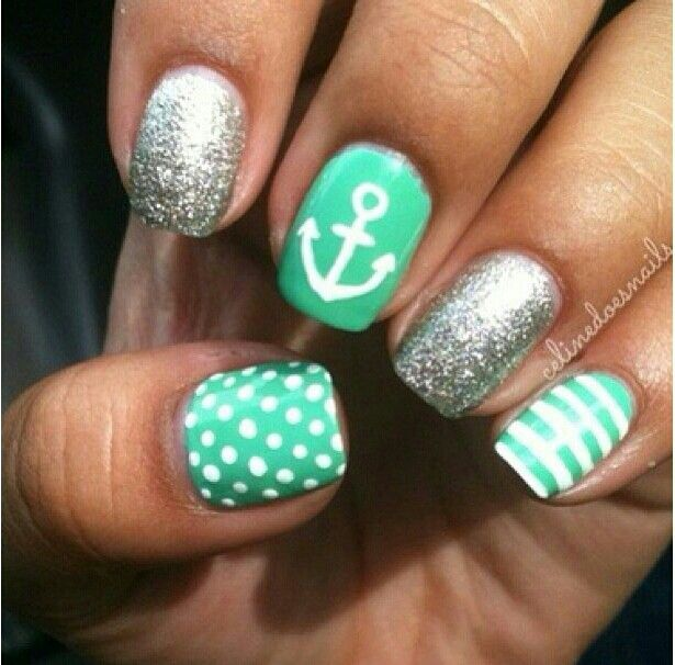 I just need to say these nails are really cute