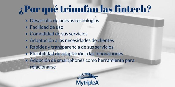 ¿Por qué triunfan las #fintech? haz click en la imagen para saber más