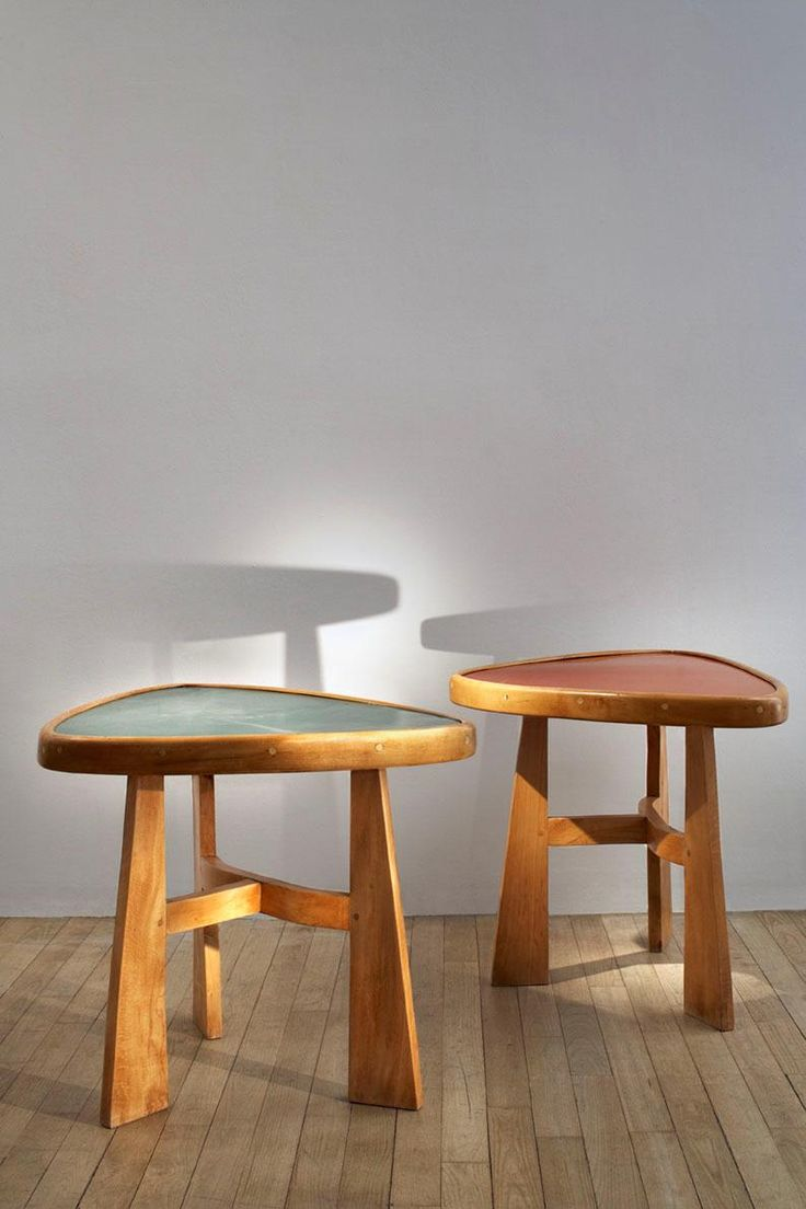 Charlotte Perriand (1903-1999) Table guéridon for l'hôtel Doron, Méribel, France c. 1947