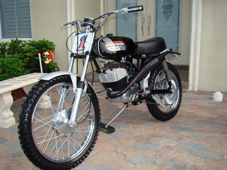1971 AMF Harley-Davidson 100cc Baja       I wanted this so bad when I was young.