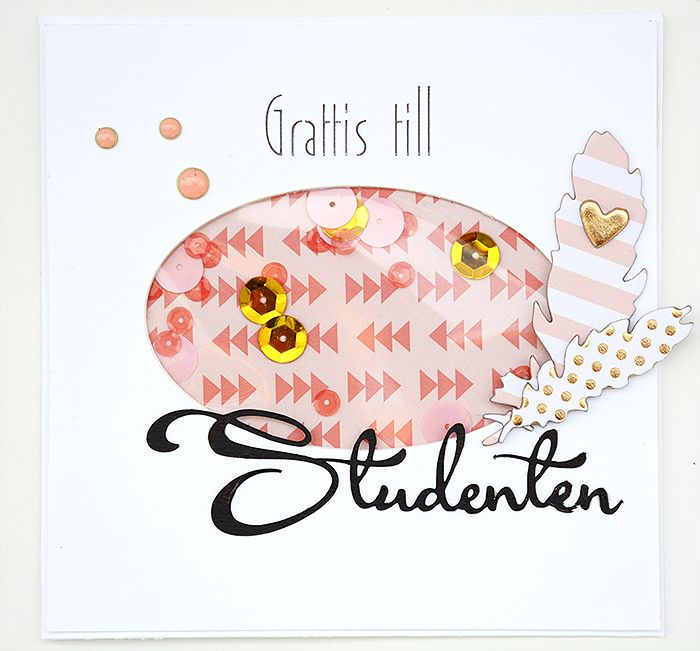 Graduation card with On Trend by Helens Color Life