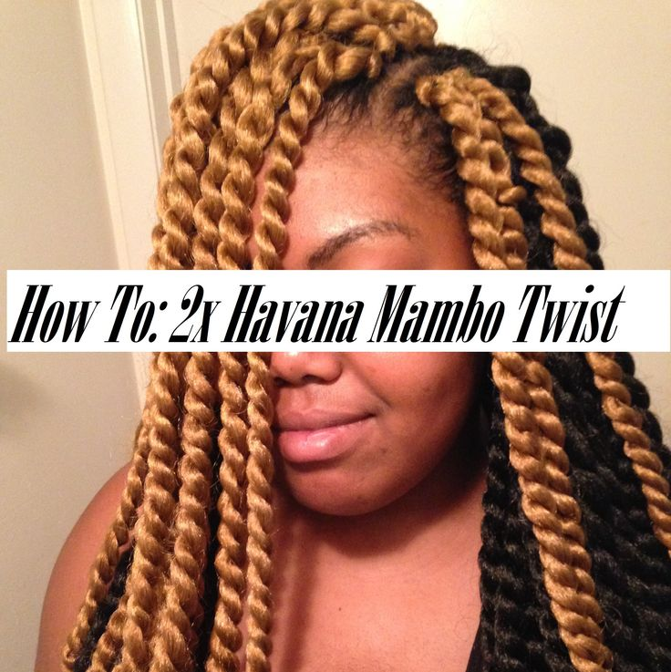 How To: 2x Havana Mambo Twist (sew in)