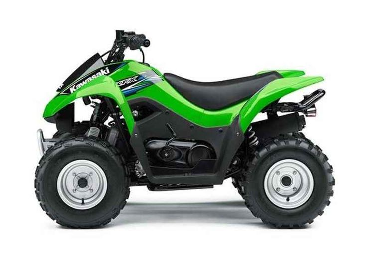 New 2014 Kawasaki KFX 90 ATVs For Sale in Kentucky. 2014 Kawasaki KFX 90, 2014 Kawasaki KFX90 Youth ATV! Brand New with ZERO HOURS! Price valid through 12/28/14 Compact Sport ATV Matches Growing Riders of all Skill Levels For riders age 12 and over who have outgrown their 50 cc ATV or are just beginning to enjoy the trails with mom and dad, the 2014 KFX®90 offers the perfect mix of strength and safety. With a fully automatic transmission that is easy to operate and start via an electronic…
