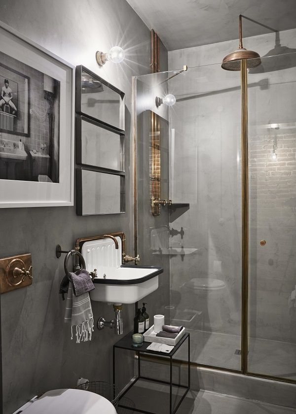 Glamorous Industrial Style Apartment Decorology Industrial Bathroom Decor Vintage Industrial Bathroom Industrial Apartment Decor
