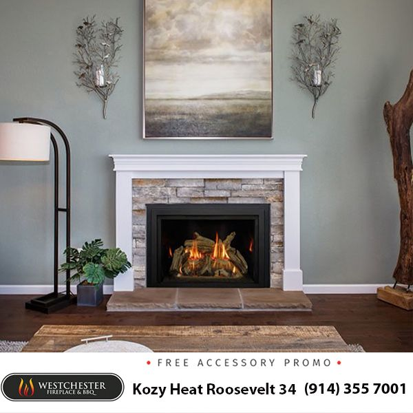 Our Kozy Heat Roosevelt 34 Gas Fireplace Insert Is A Beautiful