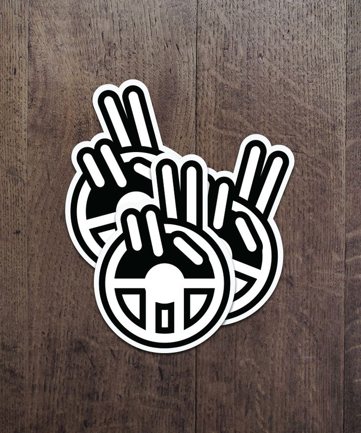Image of 'Jeep Wave' Decal [large]