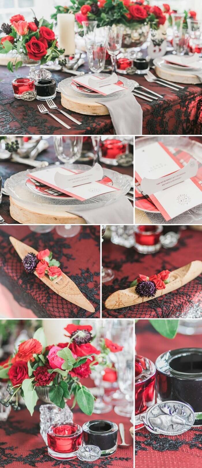 339 besten tischdeko bilder auf pinterest hochzeit deko for Tischdeko rot schwarz