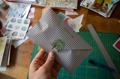 Cute little envelope!