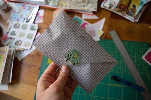 Cute little envelope!