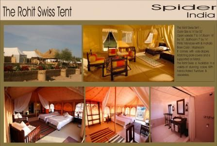 Resort Camping Air-Conditinal Tent