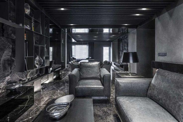 Дизайн интерьера в черном цвете  #Дизайнинтерьеравчерномцвете #черный #черныйцвет #цвет #дизайн #интерьер #стиль #строители #строительство