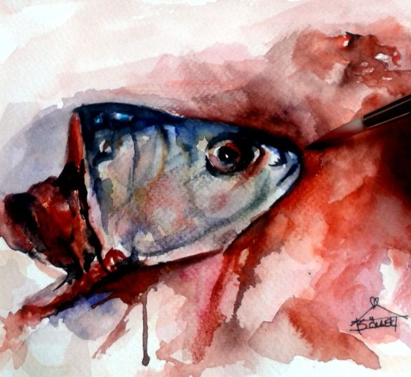#fish #watercolor
