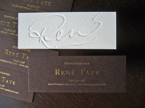 #letterpress, #businesscard, #calligraphy, white on white