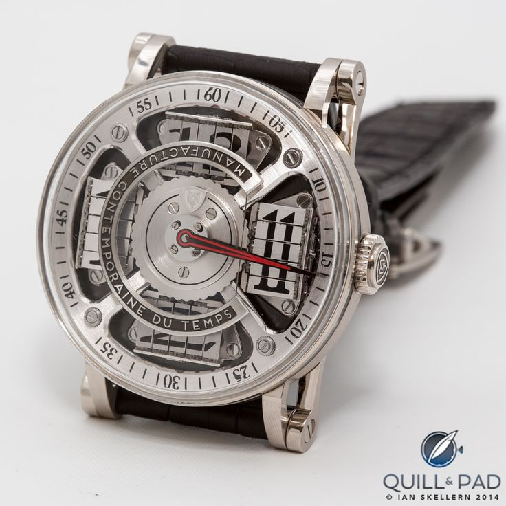 MCT Sequential Two S200 in white gold