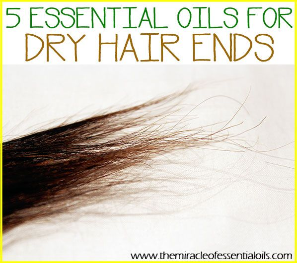Use any of these 5 essential oils for dry hair ends to keep your hair looking healthy and moisturized! Dry hair ends are a common hair complaint. Many people who use heat on their hair (think: hair straighteners & curling irons) have dry and frayed hair ends. Even people who don't regularly trim their hair …