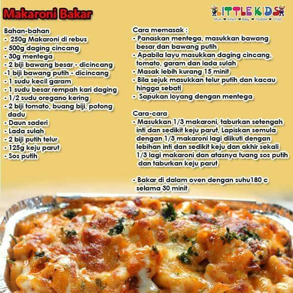 Makaroni Cheese Bakar Food Recipies Recipes Food