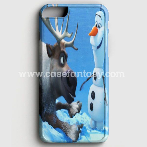 Sven And Olaf Funny Cartoon iPhone 6 Plus/6S Plus Case | casefantasy