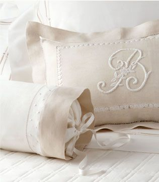 Wayne just said yes to getting W pillows like this :D