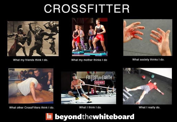 Fitness paleo/ primal style... Crossfit meme