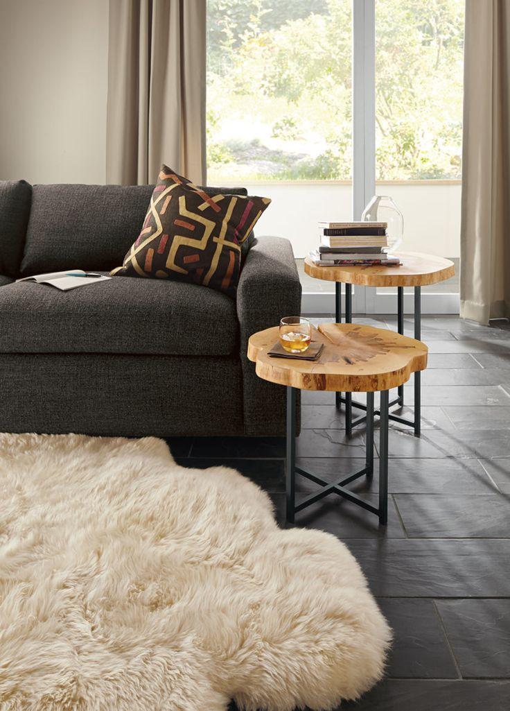 modern end tables living room. Allard End Tables in Natural Steel 51 best Modern images on Pinterest  tables