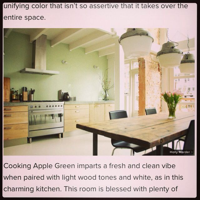 Farrow Amp Ball Cooking Apple Green Home Pinterest