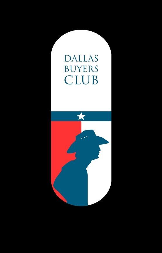 Dallas Buyers Club (2013) ~ Minimal Movie Poster by Joe Fries ~ 2014 Oscar Nominees #amusementphile