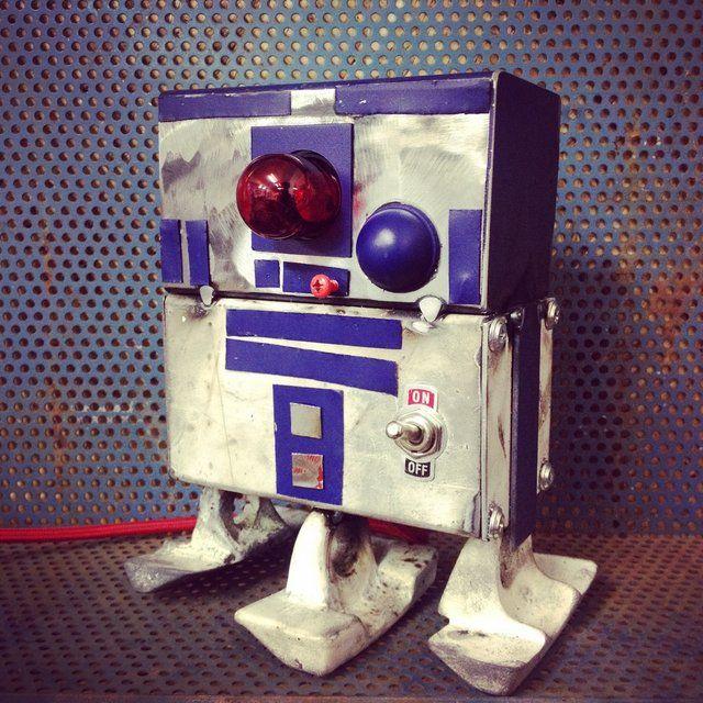 #R2D2 #starwars #robot #handmade #iron #toydesign #specialedition