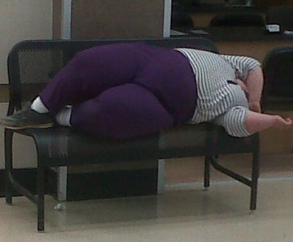 What's Your Sleep Number? Comfortable Beds and Benches at Walmart - Fail - Funny Pictures at Walmart
