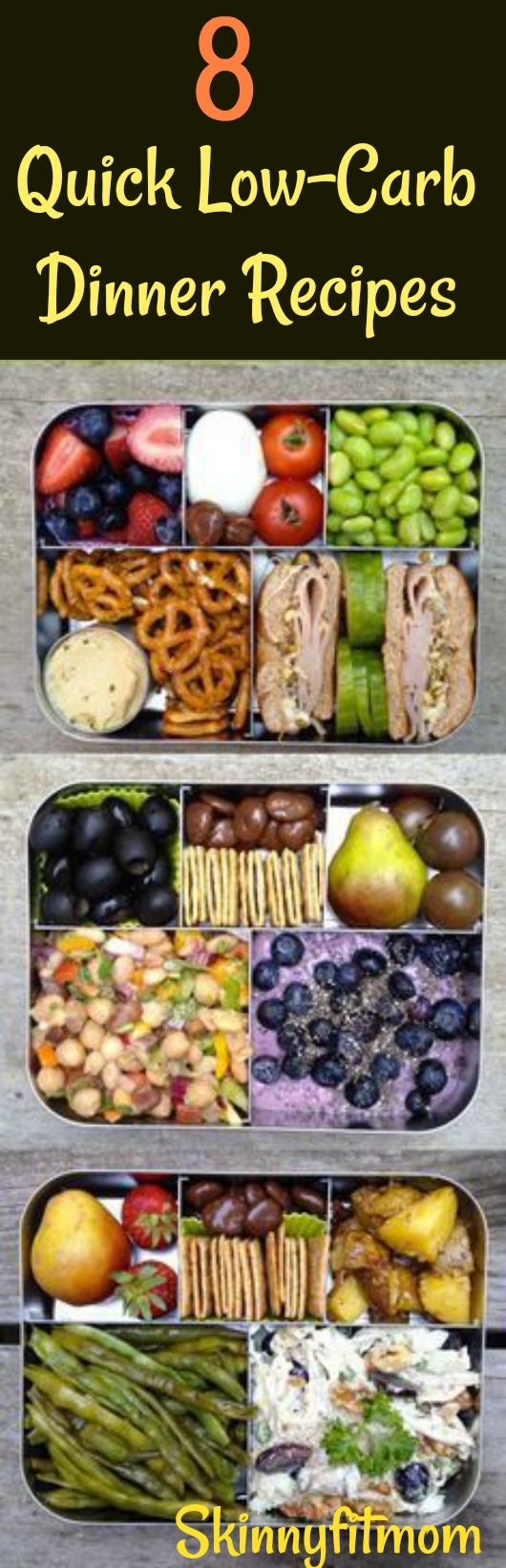 8 Quick Low-Carb Dinner Recipes- Simple and Delicious