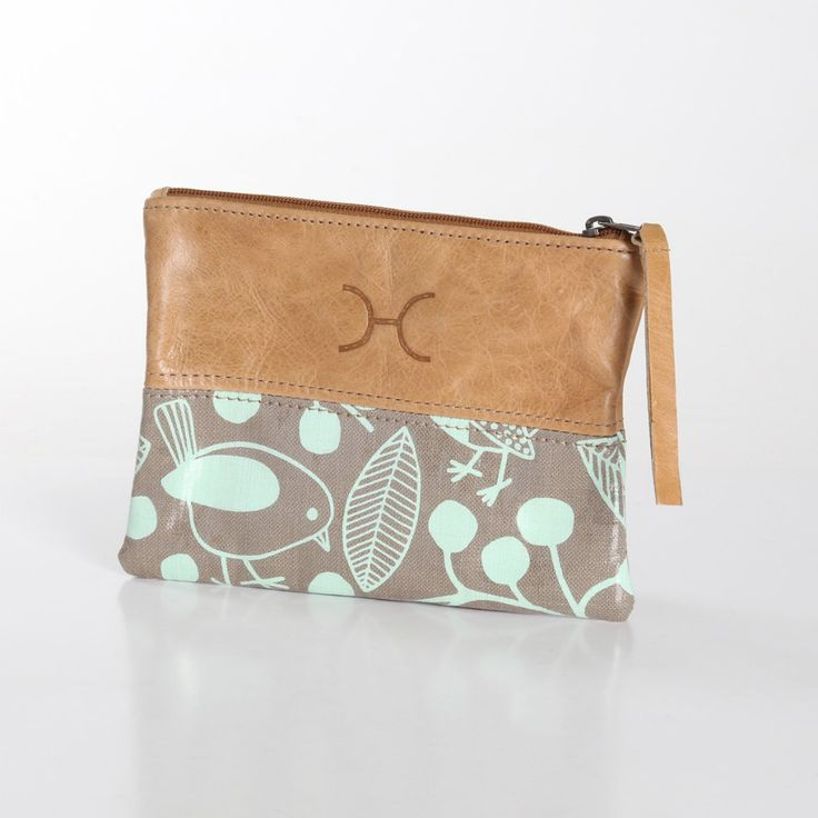 Leather pouch, handmade in South Africa