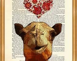 Image result for book art camel