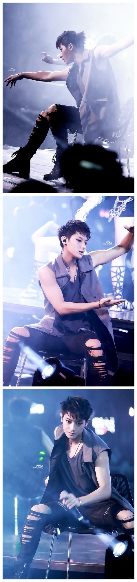 tao ~ He's a rather elegant boy. But I've seen his moves so don't tell him I said that.