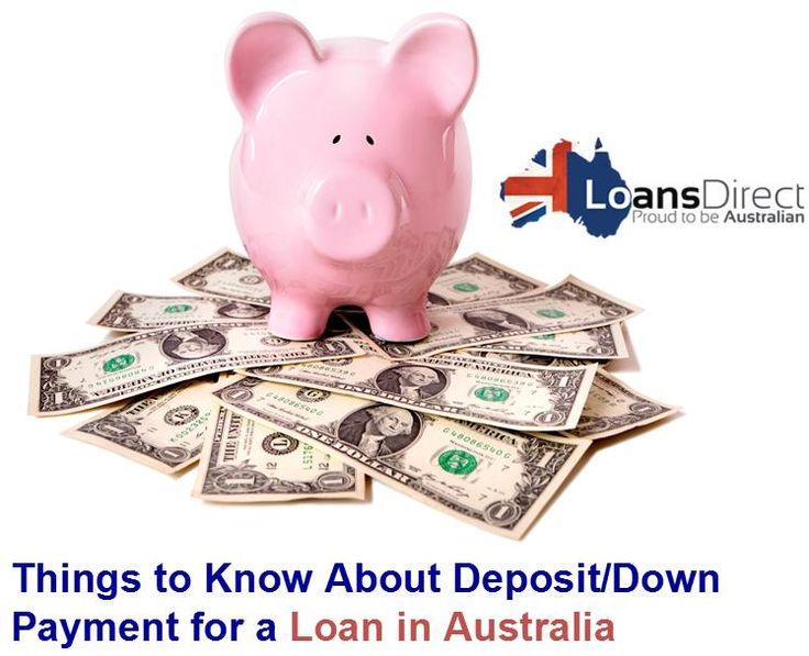 Here are some important things that you need to know about deposit or down payment for a #Loan in Australia. Have a look...