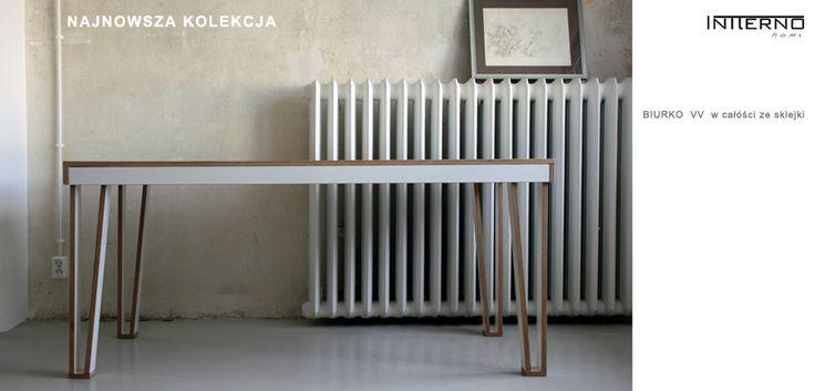 biurko ze sklejki #Intterno - #plywooddesk