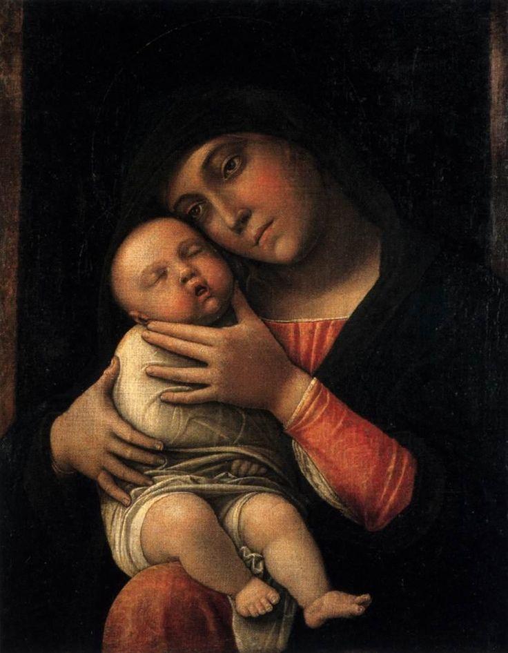 Andrea Mantegna – Madonna con Bambino addormentato (1490)