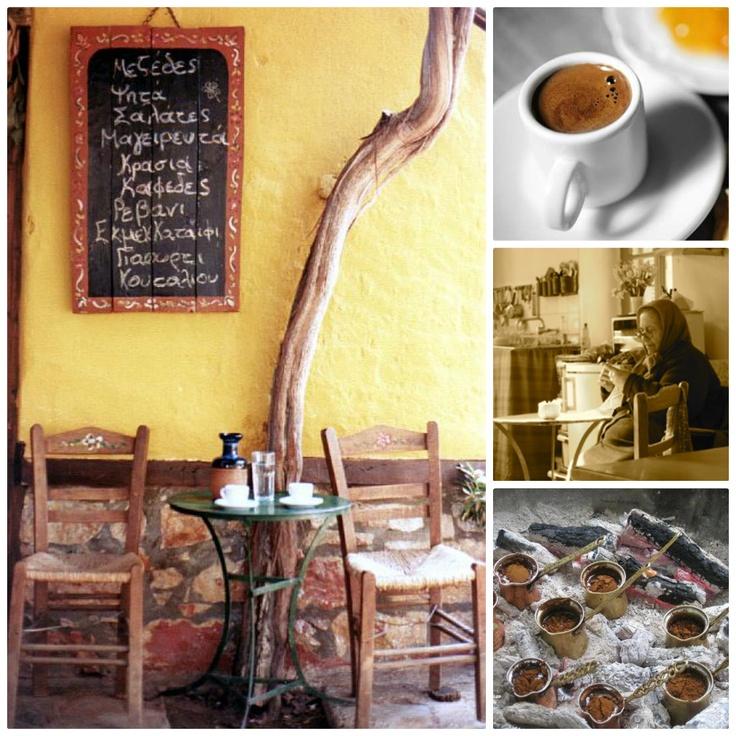 Greek coffee time
