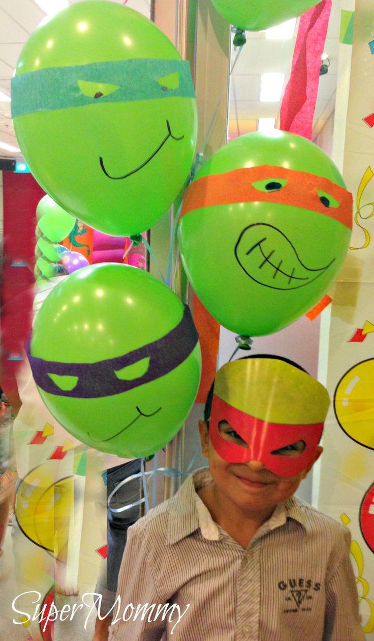 Boys Birthday Party Theme - Teenage Mutant Ninja Turtles