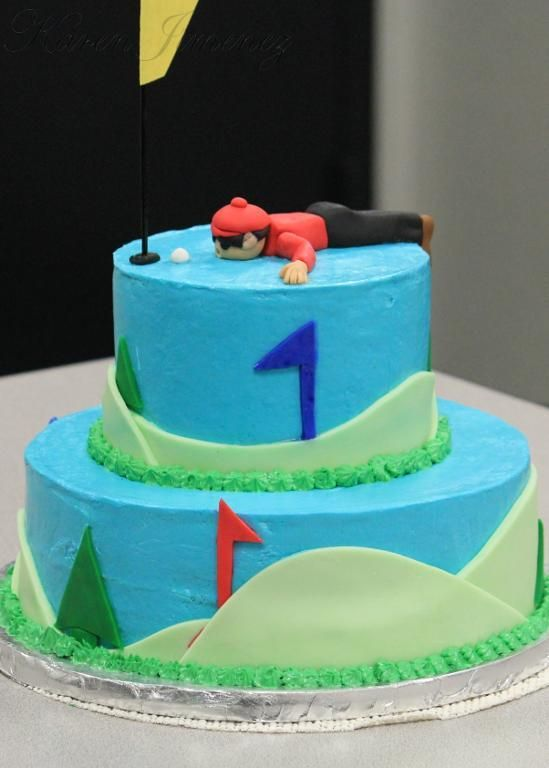 17 best images about Cakes-Golfing Sweets on Pinterest ...