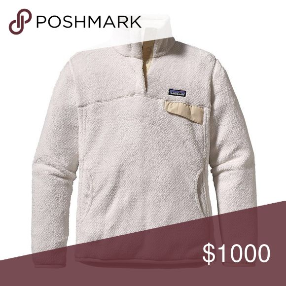 Searching for! White pullover size small reasonably cheap Patagonia Jackets & Coats