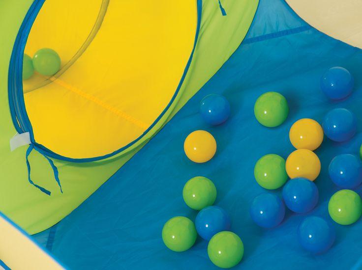 Parcours de jeu LUDI avec 30 balles fournies