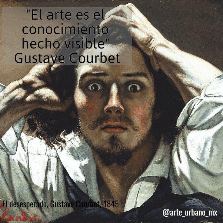 """Gustave Courbet, fue un pintor francés, fundador y máximo representante del realismo """"el arte es el conocimiento hecho visible"""" Síguenos  Instagram: https://www.instagram.com/arte_urbano_mx  Facebook: https://www.facebook.com/arteurbanomx"""