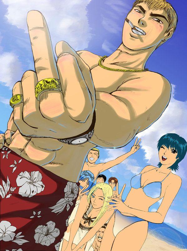 Belo poster de um anime épico