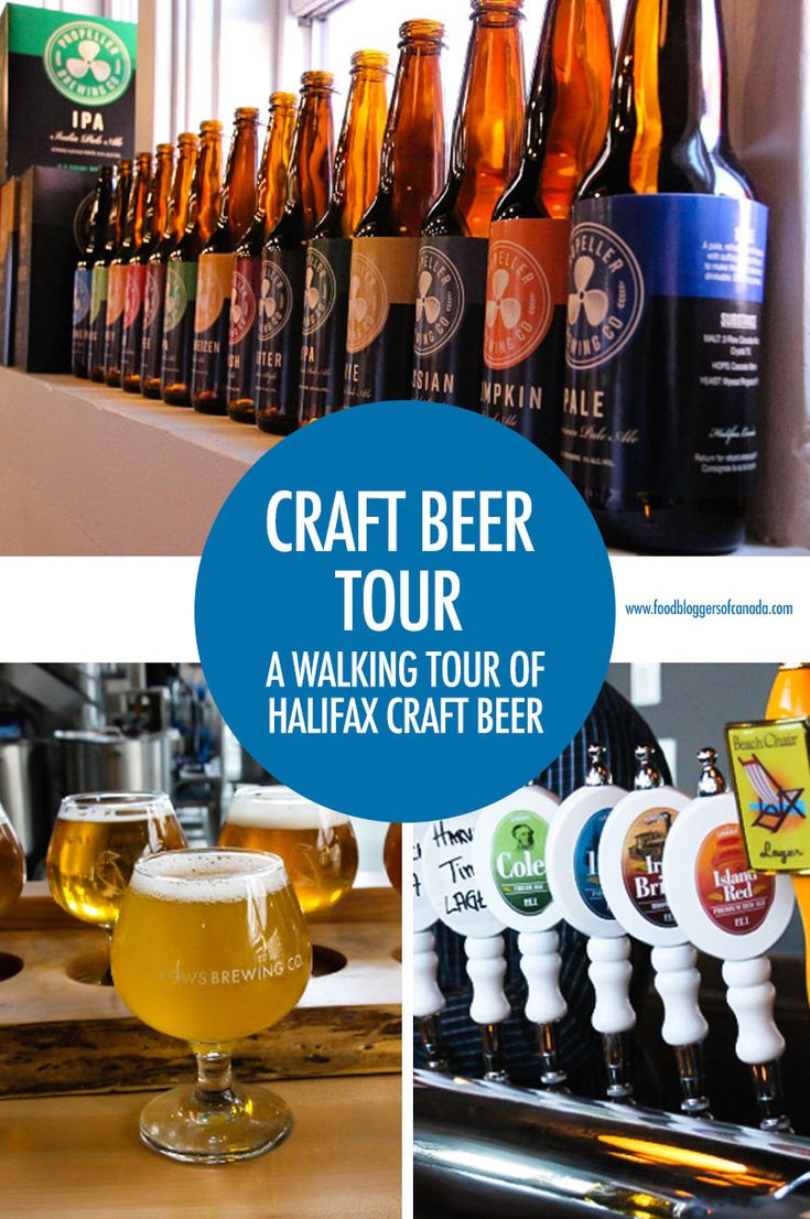 Take a Walking Tour of Halifax Craft Breweries