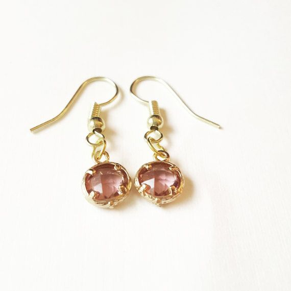 Check out this item in my Etsy shop https://www.etsy.com/ca/listing/514992049/crystal-earrings-bridesmaid-earrings